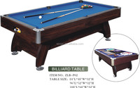 Bar Family billiard table&mdf pool game table&ABS corner,full accessory