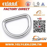Hight Quality Low Price 2 Inch 4540KGS Welded Wire Metal D Rings