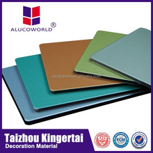 Alucoworld Waterproof ACM /ACP sheets 3mm aluminum construction material