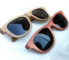 Top grade branded uv400 polarized lens handmade bamboo wooden sunglasses with custom logo sunglasses wood