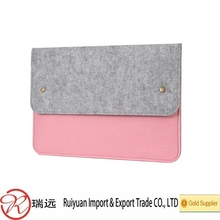 Fashion Design Economical and Practical Felt Laptop Bag
