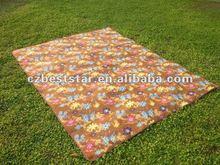 Fleece camping mat