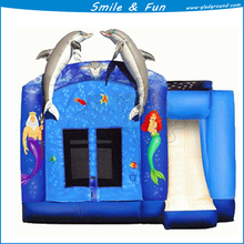 Inflatable for both bounce and slider type combo wit size 5*6m for 5 children
