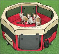 Factory Wholesale Fabric dog house Pet Playpen Dog Playpen