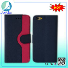 Pu Leather Flip newest hot mobile phone case for iphone 6