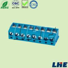 10pcs 2 Poles 5.00 PCB Universal Screw Terminal Block