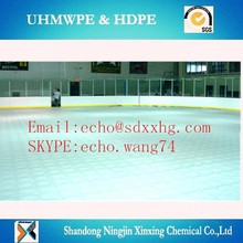 High density polyethylene shooting board/mobile ice skating plate/ice rink hockey dasher board