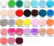 Bufanda del mantón de la gasa de la moda, Se puede usar como un Hiyab, Stock Muchos colores precio al por mayor