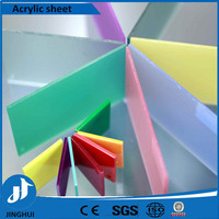 100% virgin colorful cast acrylic sheet / pmma cast sheet