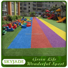 Plastic Playgtound Running Tracks of Artificial Turf Indoor Home Game