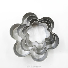 Stainless Steel Flower Shape Cookie Cutter