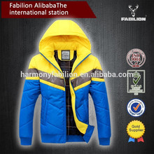 Man plus size M-3XL various color double pocket design for matching jacket