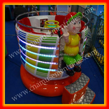 Kids carnival rides children small tagada disco