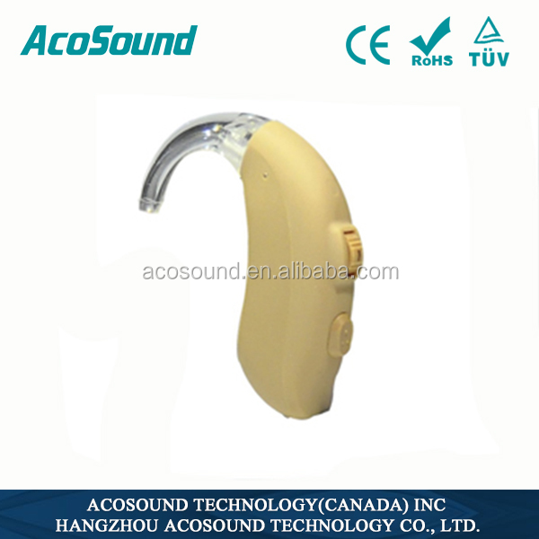 China Alibaba AcoSound Acomate 420 BTE CE TUV cheap hearing aids manufacturer in China