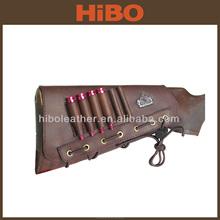 HIBO/Tourbon Leather Gun Ammo Shell Cheek Rest Tactical Buttstock
