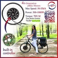 24V/36V/48V 250W 500W 700W 1000W Electric Bicycle Motor