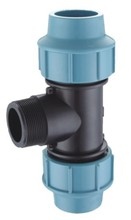 PP Male Tee Water Pipe and Fittings
