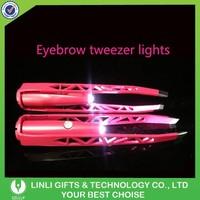 Logo Promotional Gift Led Light Tweezers