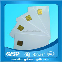 High Quality ATMEL 24c16 ISO7816 Blank Contact Smart Card Phone IC Card Medical Insurance Card
