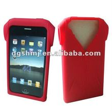Supply 2012 red Silicone Case/Cover/Skin for iphone