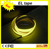 Fashion!! Hot!!! adhesive power shape 39.5``*3/4inch Tron EL Tape/Strip Kits glow in the dark night