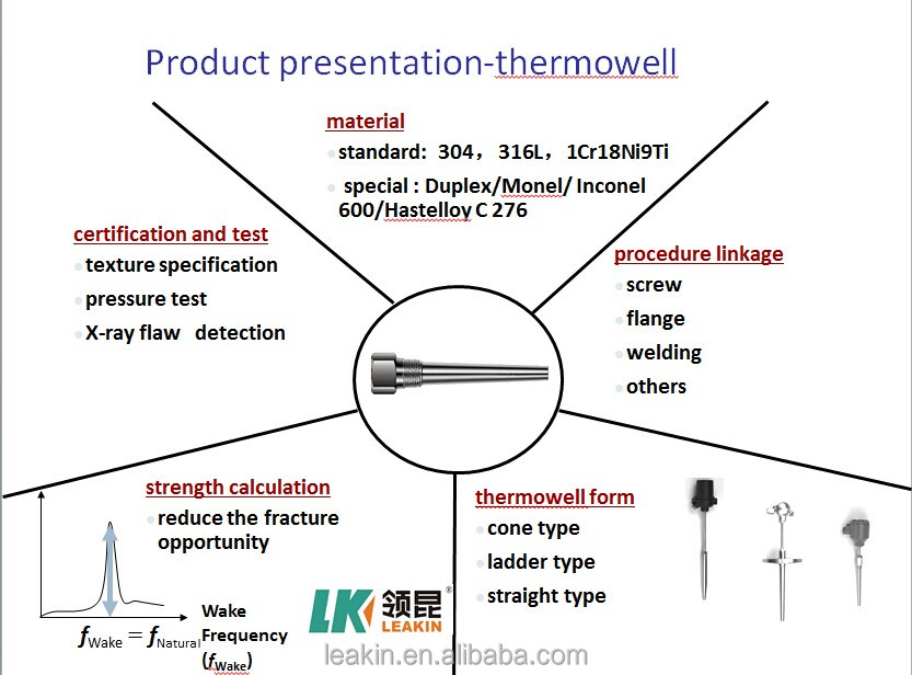 N type industrial thermocouple thermowell ss buy
