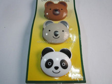 3pc pack Cute Cartoon design Plastic clothing Pegs