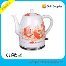 Home Appliance 1.5L Electric Ceramic Porcelain Tea mini electric red kettles