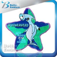 Embroidery Fish iron on patches wholesale