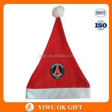 Deluxe Santa Hat/ Wholesale Christmas Decorations/felt santa hat