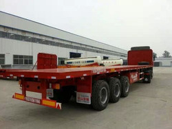 40ft Flatbed Container Semi-trailer,Container Trailer and truck for salke