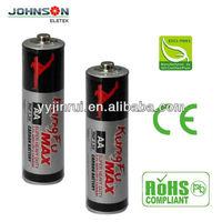 aa R6 1.5v zinc carbon high quality batteries