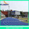 Sports Stadium running Track Sandwich System athletic track 13mm polyurethane Running track playground