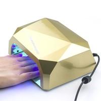 Fashion Diamond Shaped 36W UV Nail Lamp CCFL Nail Dryer Curing Lamp LED Nail Lamp