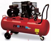 4hp 100L 2070 italy type piston air compressor