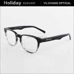 2015 New Style high end eyeglass frames latest designer acetate eyewear frames