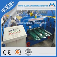 LOOK! HC38 PLC Control Color Steel Plate Glazed Tile Cold Roll Forming Machine
