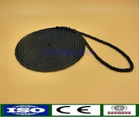 China popular braided polyester rope for marine