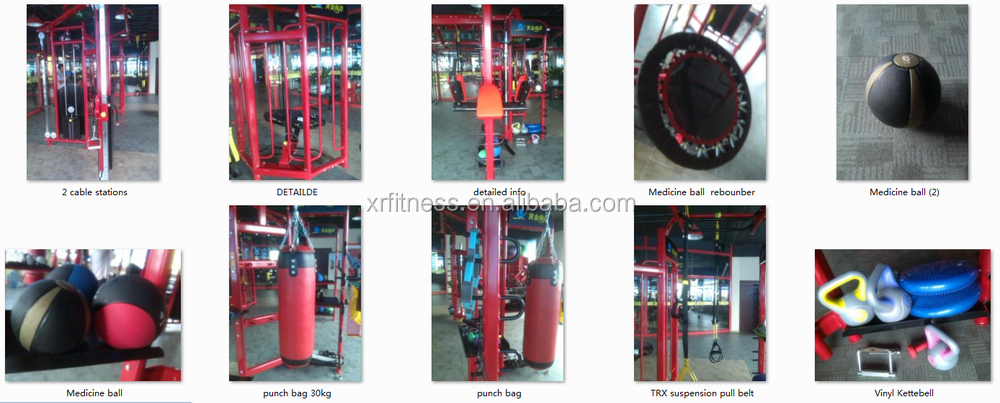 Synergy 360 multi station gym equipment for privita coach XR5507