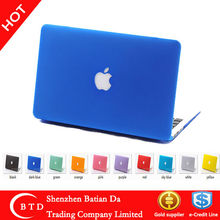 Rubberized Frosted Surface Cover for Mac Book Pro 13.3'' 15.4''