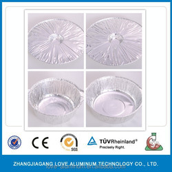 2015 new disposable food packaging aluminium foil containers/tray/box large size aluminium foil bowls