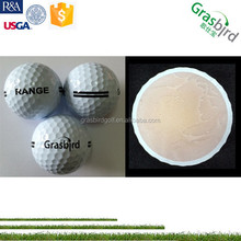 2pc golf training golfballs, bulk golf range balls, golf driving range