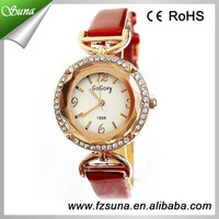 Best Price Women Diamond Fashion Leather Watches Hong Kong