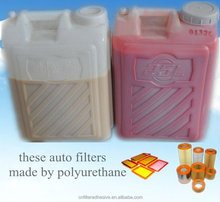 PU adhesive for filter use polyurethane (manufacture)