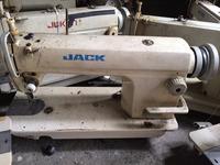 Chinese mixed brand USED SECOND HAND JACK 8500/5550/8700 single needle lockstitch sewing machine