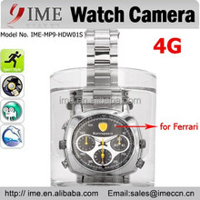 100% real 4GB Hot sell Waterproof Watch Hidden Digital Video Camera 720*480 Mini Camcorder DVR with box Wholeasale Price