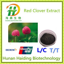 100% Natural Red Clover Extract 8%-40% Isoflavones