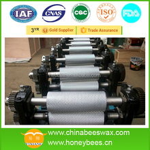 Durable beeswax foundation embossing machine