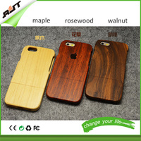 New Arrival Pure Wood Blank Phone Case For Iphone 6s