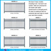 willow branch fence/cast aluminum fence decoration/balcony safety fence